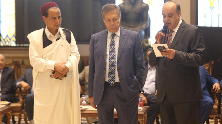 Libyan parliamentarian delegation visits Egypt's House of Representatives