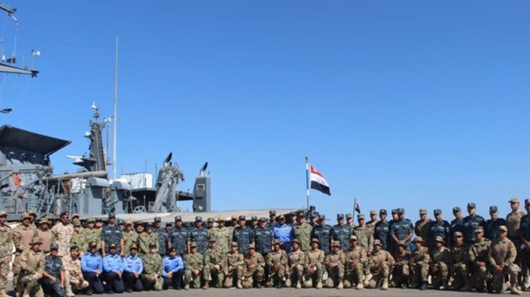 "The American and Egyptian naval forces commenced on Monday the joint exercise ""Eagle Response 19"" in the Red Sea, with the participation of naval and air forces from Egypt, the United States and the United Arab Emirates, as well as Saudi Arabia as an obse"