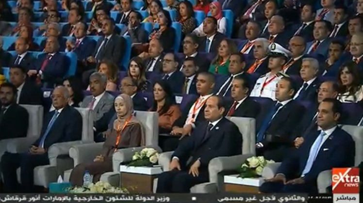 The 7th edition of the National Youth Conference kicked off with presence of President Abdel Fatah al Sisi on Tuesday at the New Administrative Capital