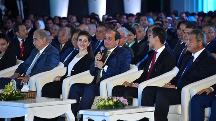 Egypt's President Abdel Fatah al Sisi  witnessed on Wednesday the graduation ceremony of the first batch of African young people who participated in the Presidential Leadership Program (PLP).