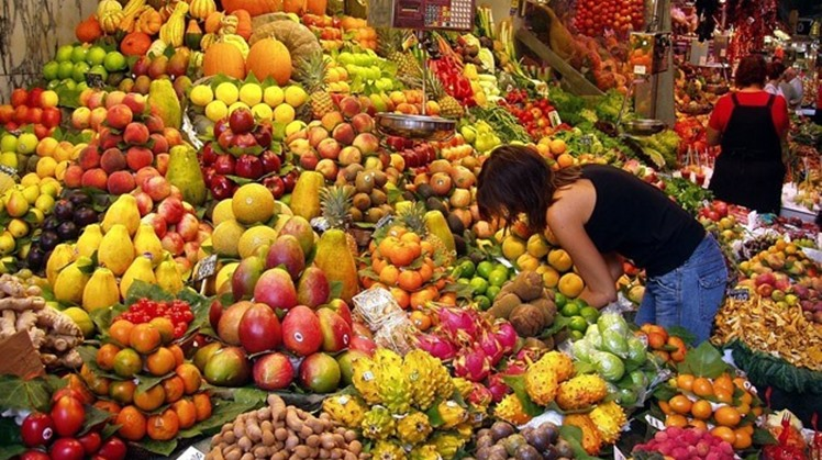 Egypt's exports of fruits and vegetables rose to 4 million and 800,000 tons since the beginning of the new export season of fruits and vegetables, the Central Administration of the Ministry of Agriculture issued a report Tuesday.