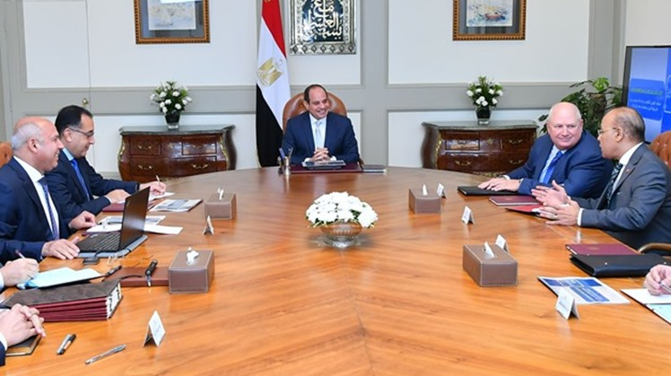 Egypt's President Abdel Fattah al-Sisi held a meeting with CEO of US Progress Rail Locomotives (PRL) William Petersons on Saturday in the presidential palace, mulling ways of supplying US-manufactured locomotives for the Egyptian railway network, accordin