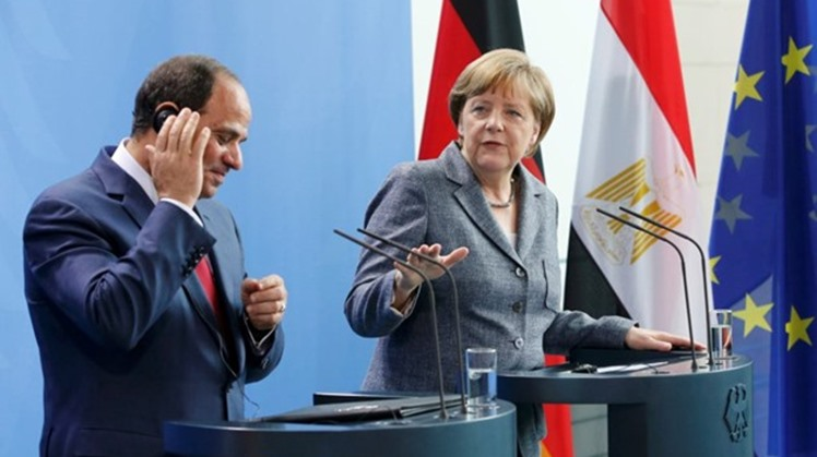 Egypt's President Abdel Fatah al-Sisi received in his residence in Berlin German Defense Minister Annegret Kramp-Karrenbauer as they agreed to reinforce channels of consultation and coordination over regional matters of mutual interest and supra regional