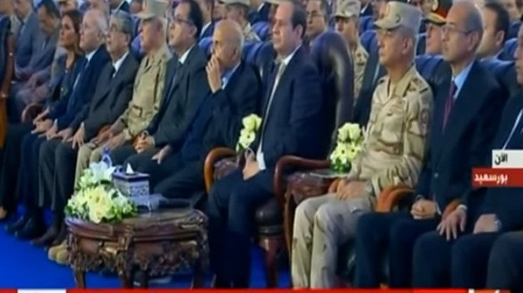 Egypt's President Abdel Fattah al-Sisi inaugurated on Tuesday a number of national projects in Port Said and North Sinai governorates.