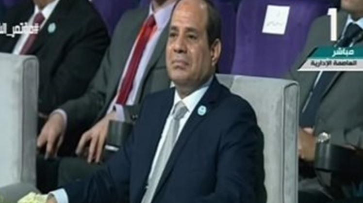 President Abdel Fattah El Sisi greeted Egyptian communities abroad on New Year, which is just around the corner.