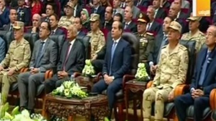 President Abdel Fatah al-Sisi inaugurated on Wednesday an integrated animal production complex in Fayoum