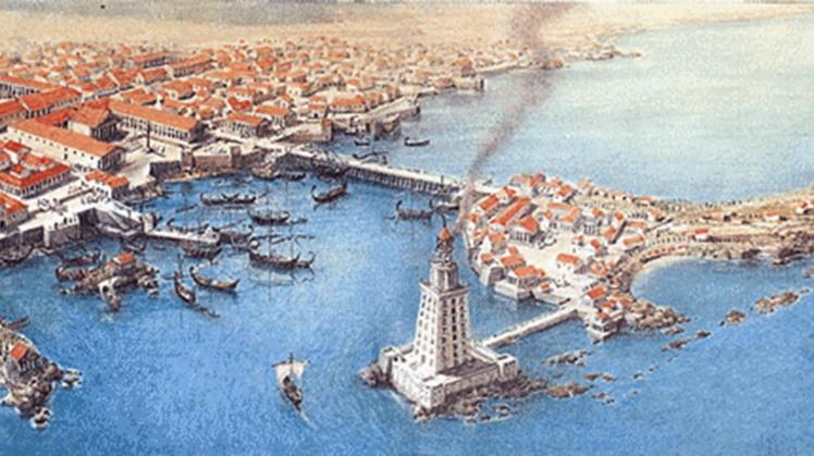 Alexandrie za Kleopatry