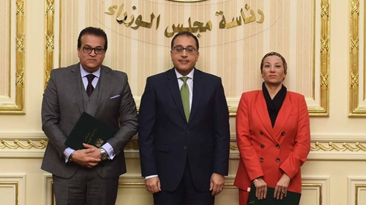 Prime Minister Mostafa Madbouli witnessed on Wednesday the signing ceremony of a Memorandum of Understanding (MOU) between the Ministry of Higher Education and Scientific Research, and the Ministry of Environment.