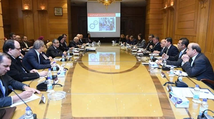 Minister of Electricity Mohamed Shaker discussed the executive steps concerning the cost of the infrastructure required for electric vehicle charging stations, in a meeting with Minister of Military Production Mohamed al-Assar - Press photo