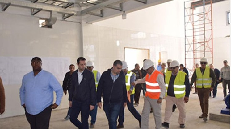 A delegation of US Congressmen visited North Sinai Wednesday to inspect a number of projects currently being implemented, according to a statement released by military spokesperson Tamer el-Refaei on Wednesday.