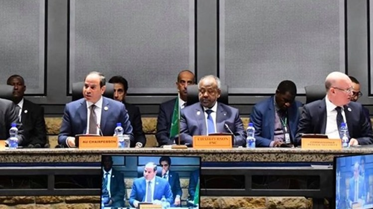 Egyptian President Abdel Fattah al-Sisi on Saturday urged the member states of the African Union to join the African Peer-Review Mechanism (APRM) - Courtesy of the Presidency