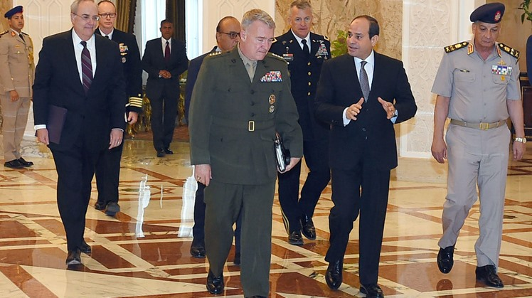 Commander of the United States Central Command (CENTCOM) Kenneth McKenzie Jr. told Extra News Egypt that the command works closely with Egypt to enhance terrorism combat capabilities.