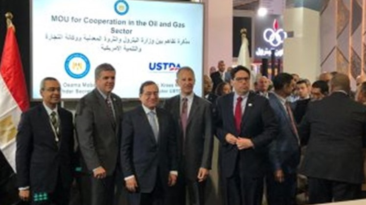 Minister of Petroleum Tarek el Molla attended on Wednesday the signing of an agreement between the ministry and the US Trade and Development Agency