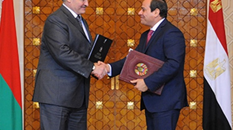 Belarus president: Egypt is important economic, trade partner in Middle East