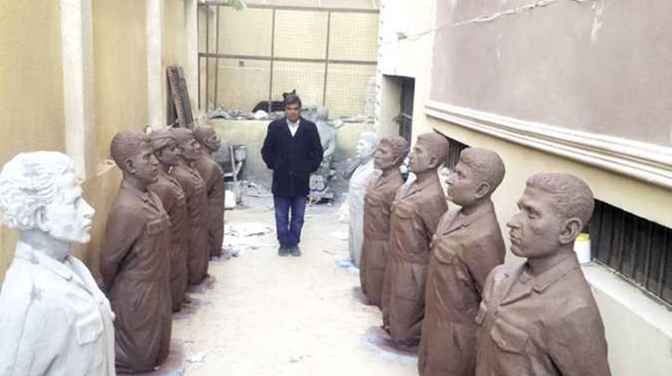 Bishop Bevnotious of Egypt's Minya Governorate has established a new museum that commemorates the 21 Egyptian Christians