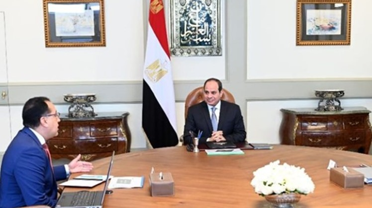 President Abdel Fattah al-Sisi urged the involvement of the private sector and youth in the projects of the Environment Ministry