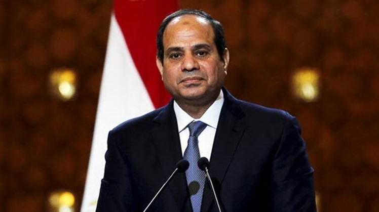 Egyptian President Abdel Fatah al Sisi met Sunday the head of International Schneider Electric company along with prime minister Ashraf Madbouly