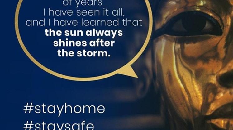 Tutankhamun's message - Facebook.
