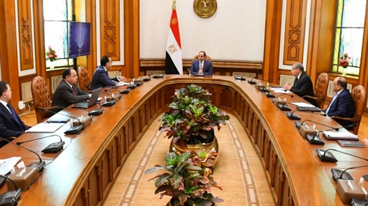 Egypt's President Abdel Fattah El-Sisi directed the government to provide basic food commodities and increase the strategic food reserves to meet people's demands across the country