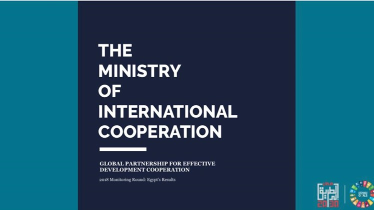 Egypt's Ministry of International Cooperation launches the results of the Global Partnership