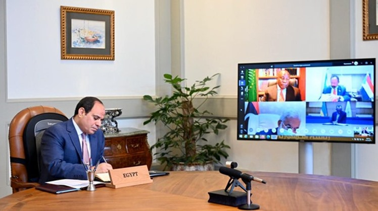 Egypt's President Abdel Fattah El-Sisi on Wednesday highlighted the need for the continuous communication between African countries to coordinate joint efforts to face the novel coronavirus (COVID-19)