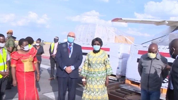 Egypt has sent Congo and Zambia medical supplies, disinfectants, drugs and protective suits to heal combat Covid-19.