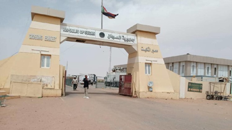 Sudan reopened the Qastal-Ashkeet border crossing with Egypt on Thursday, having closed it in March over coronavirus concerns, Sudanese news agency SUNA reported.