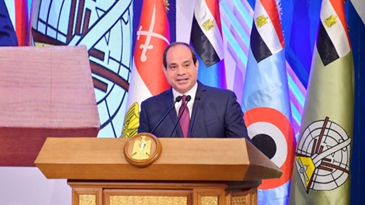 "Egypt's President Abdel Fatah al-Sisi checked on the forces in the Western Military Zone Saturday telling them, ""The Egyptian Army is one of the strongest in the region"