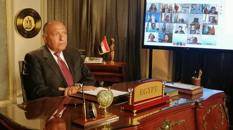 In his speech at the United Nations Security Council meeting on the controversial Grand Ethiopia Renaissance Dam (GERD) at a request from Cairo on Monday, Egyptian Foreign Minister Sameh Shoukry voiced Egypt's concern about the dam's safety on lives of mo