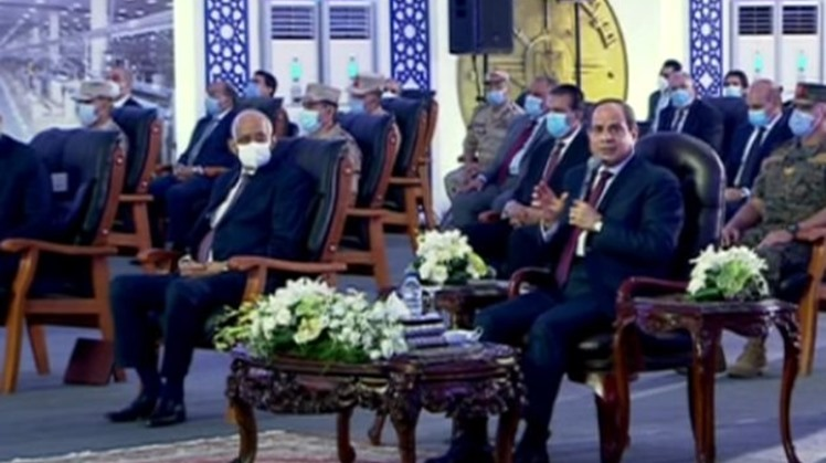 The Egyptian media should not mention a military action as an option in the issue of the Renaissance Dam (GERD), President Abdel Fattah el-Sisi said Tuesday.