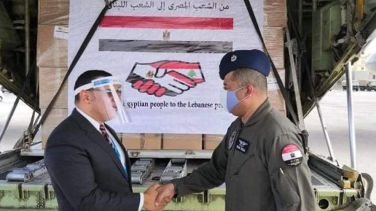 Lebanese Foreign Minister Charbel Wahba expressed his country's appreciation for the great assistance provided by Egypt to Lebanon through the relief aid planes in the face of Beirut port explosion.