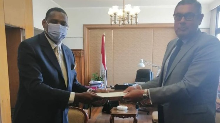 New Ethiopian ambassador to Egypt Markos Tekle Rike officially starts duties amid tensions over GERD