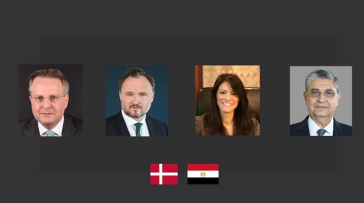 gypt's Minister of International Cooperation Dr. Rania Al-Mashat, and Minister of Electricity and Renewable Energy Dr. Mohamed Shaker, signed the Egyptian-Danish Energy Partnership Program