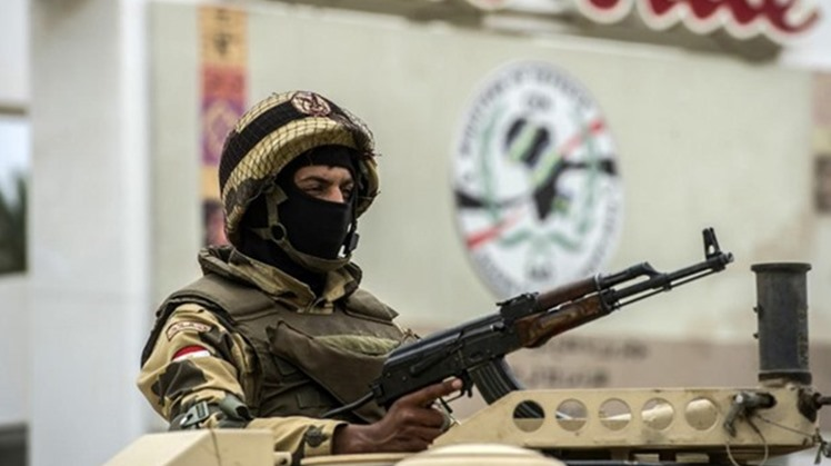 The Egyptian Armed Forces said Sunday that they managed to destroy and raid 317 terrorists' hideouts and warehouses used to store weapons during the period between July 22 to August 30.
