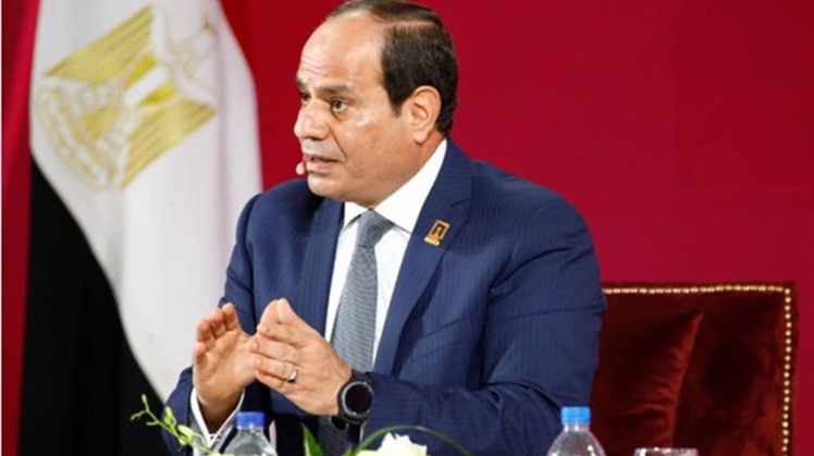 Egypt's President Abdel Fatah al Sisi said that he supports any steps that would bring peace to the whole region while maintaining the rights of the Palestinians and security of Israel.