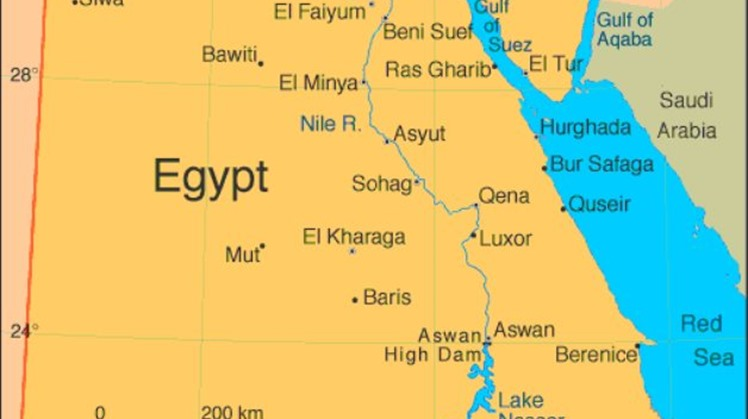Upper Egypt and the Red Sea coast have been struck with floods after heavy rain, prompting the police traffic department to close off several highways in the area on Sunday.