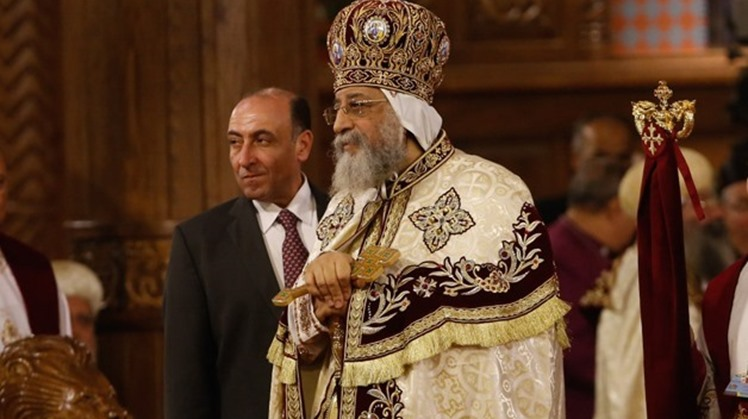 Pope Tawadros II of Alexandria and Patriarch of St. Mark Diocese on Saturday inaugurated the renovated St. George Church in Shatby, Alexandria.