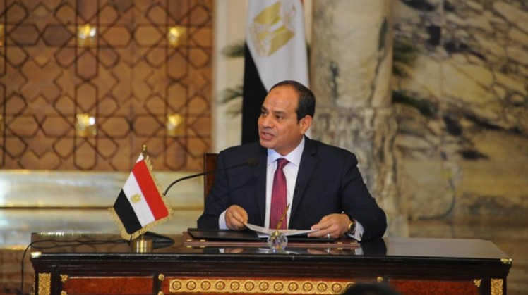 Egypt's President Abdel Fattah El Sisi directed the government to expand the mechanization services at the interior ministry's newly established buildings