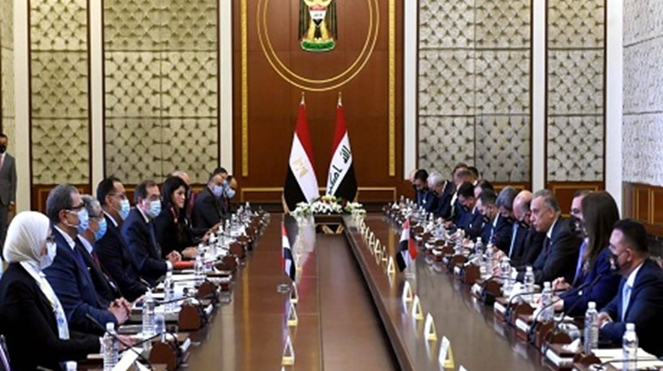 Egypt and Iraq have initially agreed on the importance of establishing an oil-for-reconstruction mechanism, under which Egyptian companies are to implement developmental ventures in Baghdad in return for providing Cairo with quantities of oil