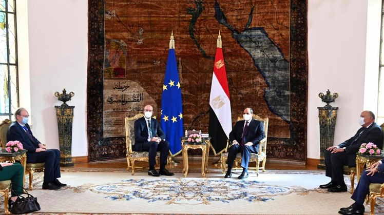 Egypt's Sisi, European Council President urge establishing international forum to fight extremism
