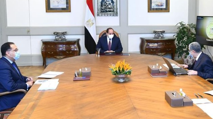 Egypt's President Abdel Fattah El Sisi directed the government to expand efforts of implementing more electricity interconnection projects with neighboring countries