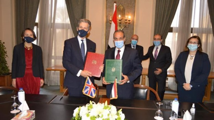 Egypt, UK sign agreement to secure free trade before Brexit completes