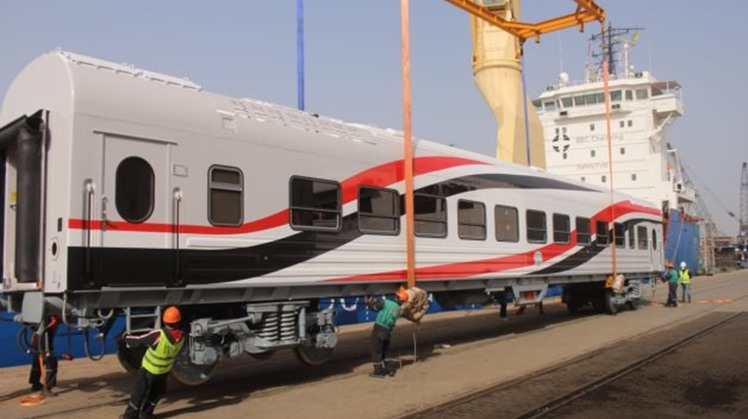 Egypt's Chairman of the Railways Authority Engineer Ashraf Raslan assured that the delivery of all the new Russian train vehicles will be completed by the end of 2023.
