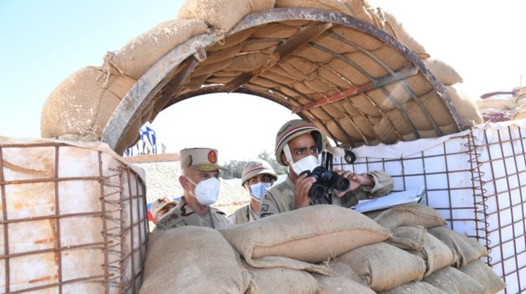 On Monday, December 28, Chief of Staff of the Egyptian Armed Forces Mohamed Farid followed on the training camp of the troops deployed in North Sinai, according to the spokesman.