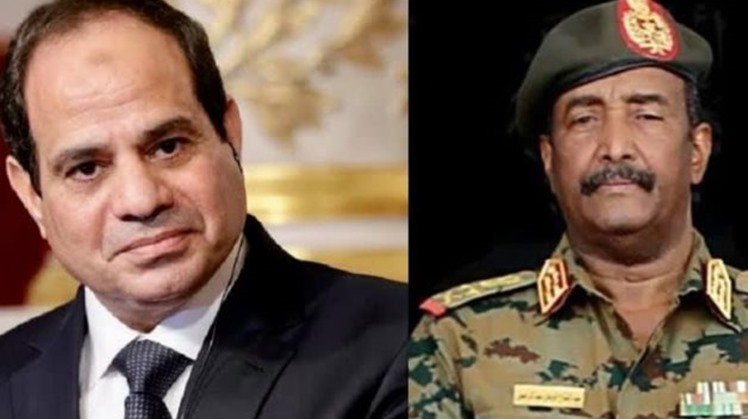 Egyptian president assures full support to Sudan in phone call with Burhan