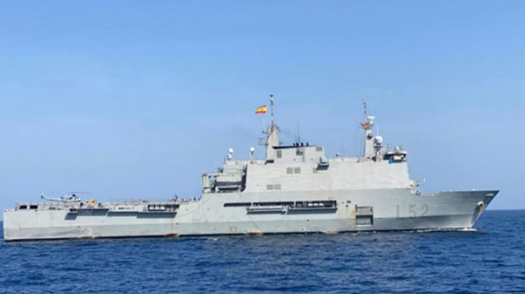 Egyptian, Spanish naval forces hold joint drills in Red Sea