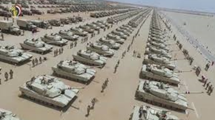 """The annual review of Global Firepower ranked Egypt's military strength 13th globally for the year 2021 out of 139 """"countries considered"""" compared to ninth out of 138 states in 2020."""