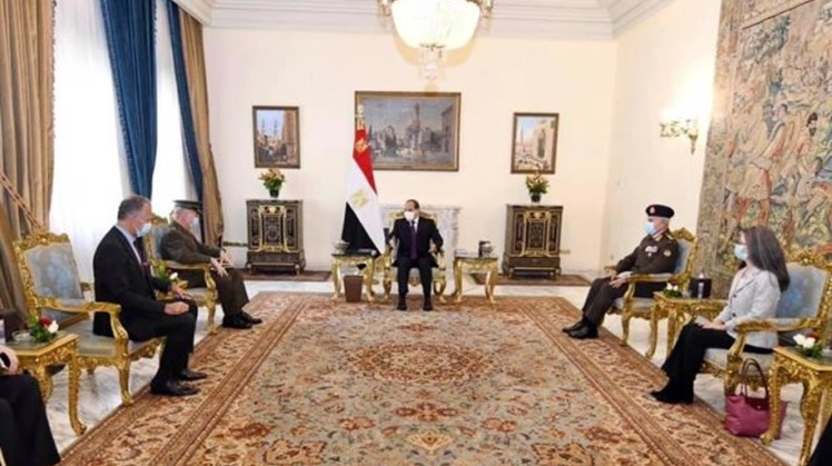 Egypt's Sisi,  Head of US Central Command discuss reinforcing military and security relations