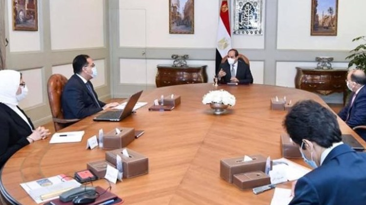 Egypt's Sisi directs to enlarge medical caravans within 'Decent Life' initiative