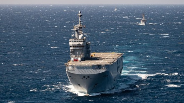 Egyptian, French naval forces conduct joint drills in Red Sea